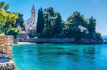 Suggested 14 days sailing route Split - Dubrovnik - Split